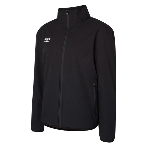 Umbro club essential bonded jacket black