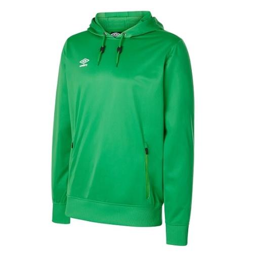 Umbro club essential poly hoody green